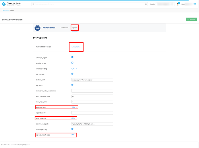 reussirweb option php 2