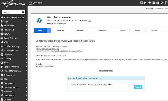 installer-wordpress-softaculous-4
